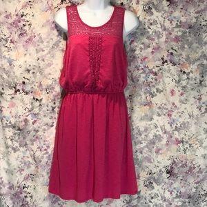 🆕 SONOMA Crochet Blouson Dress